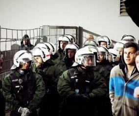 FuÃball/ Freiburg/ Ultras/ Polizei